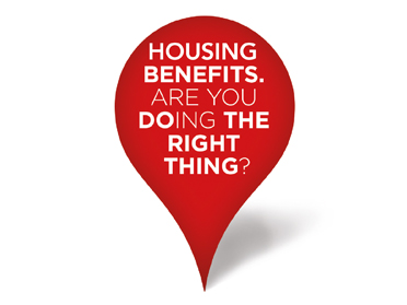 housing benefits - do the right thing