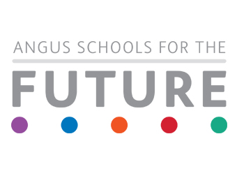 Angus schools for the future logo