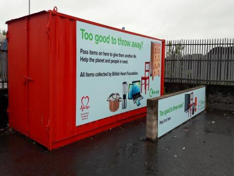 BHF container